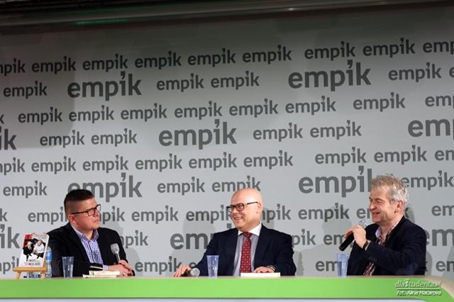 Spotkanie z Markiem Krajewskim oraz Jerzym Kaweckim