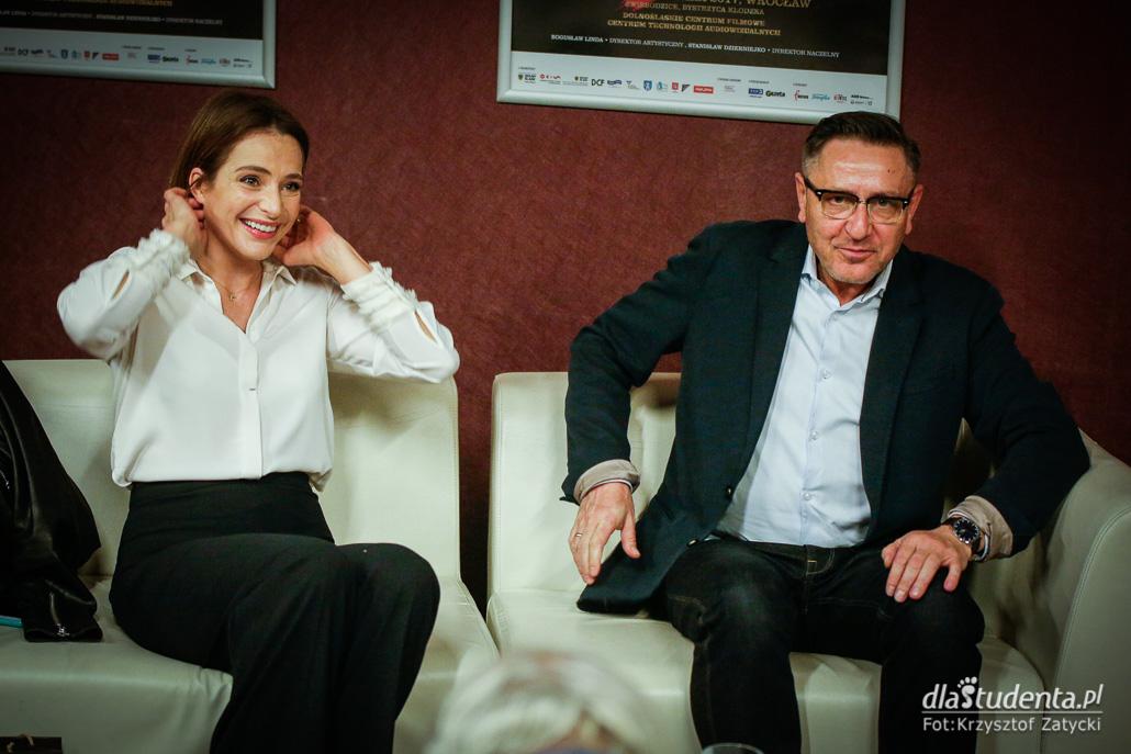 6. Festiwal Aktorstwa Filmowego - Spotkanie z Anną Dereszowską  - zdjęcie nr 5