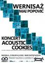 Wernisa� Mai Popovi� / Koncert Acoustic Cookies - Wroc�aw