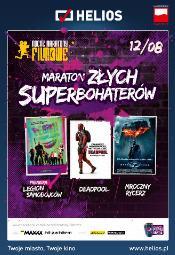 Maraton z�ych superbohater�w w kinie Helios