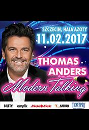 Thomas Anders and Modern Talking Band - koncert w walentynki  - Szczecin