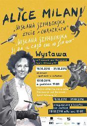Otwarcie prac włoskiej rysowniczki Alice Milani - autorki komiksu o Wisławie Szymborskiej