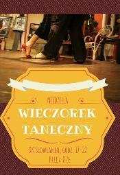 Wieczorek Taneczny - Dom Kultury Słowianin