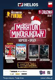 Maraton Mikołajkowy w Heliosie: Komedie + Groza