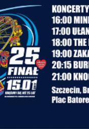Koncertowy 25. Finał WOŚP w Szczecinie