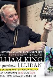 """Spotkanie z Williamem Kingiem, autorem """"Illidana"""""""