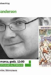 Spotkanie z pisarzem fantasy Brandonem Sandersonem