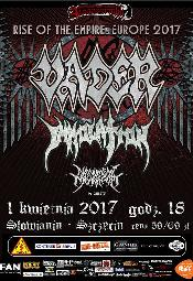 Vader (Pl), Immolation (Usa), Monument Of Misanthropy (Austria) + Support