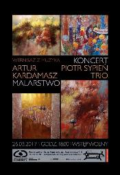 Wernisaż z muzyką: Artur Kardamasz-Malar