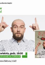 """Spotkanie z Przemysławem """"Vegenerat"""" Ignaszewskim"""