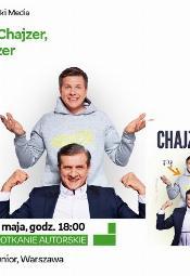 Zygmunt i Filip Chajzer - spotkanie autorskie - Warszawa