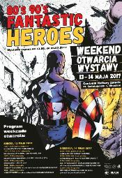 80's 90's Fantastic Heroes - Wrocław