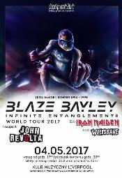 Blaze Bayley (ex-Iron Maiden/Wolfsbane) + John Revolta