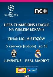 Liga Mistrzów UEFA - finał na wielkim ekranie w Multikinie