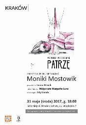 """Monika Mostowik """"Patrzę"""". Spotkanie z literaturą - Kraków"""