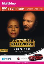 """""""Antoniusz i Kleopatra"""" Williama Szekspira w Multikinie"""