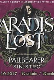 Paradise Lost + Pallbearer + Sinistro