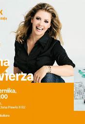 Anna Powierza - spotkanie autorskie