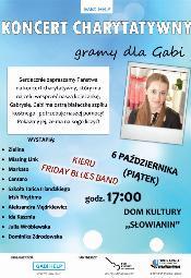 Gramy dla Gabi - koncert charytatywny