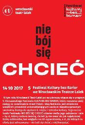 Festiwal Kultura bez barier we Wrocławskim Teatrze Lalek