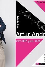 Wieczór autorski Antura Andrusa