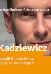Spotkanie autorskie z Łukaszem Kadziewiczem