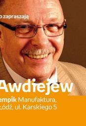 Spotkanie autorskie z Aloszą Awdiejewem