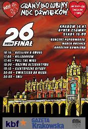 26. Finał WOŚP 2018 w Krakowie - program
