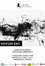 """Sebastian Łubiński """"Novum ens"""""""