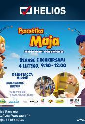 Pszczółka Maja: Miodowe igrzyska - pokaz przedpremierowy dla dzieci