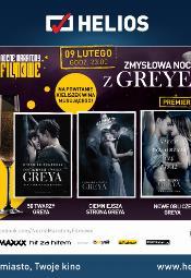 Zmysłowa noc z Greyem w kinach Helios