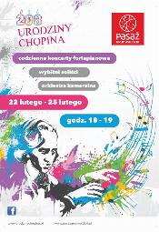 Urodziny Fryderyka Chopina w Pasażu Grunwaldzkim