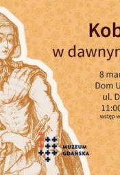 Kobiety w dawnym Gdańsku