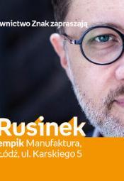 """Michał Rusinek - Festiwal Książki Dziecięcej """"Przecinek i Kropka"""""""