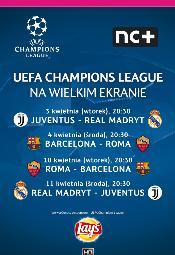 Ćwierćfinały Ligi Mistrzów UEFA w Multikinie