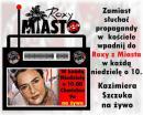 Kazimiera Szczuka z Kazimierzem w Radiu Roxy