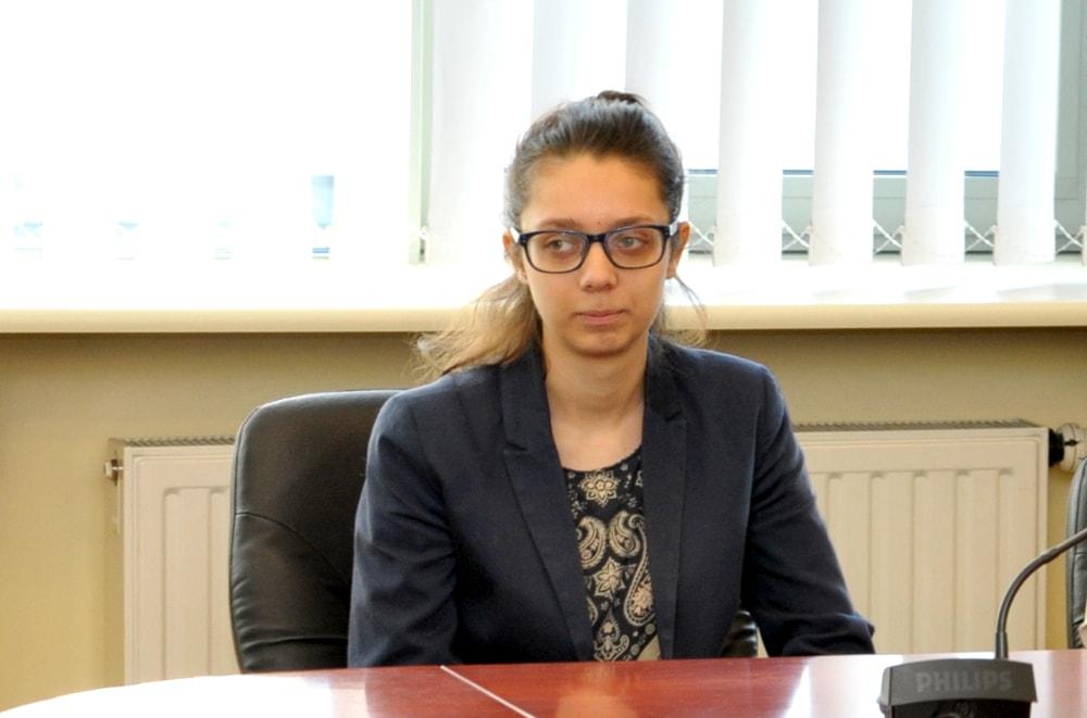 Stypendystką została Agata Lizak, studentka V roku Prawa na WSPiA.