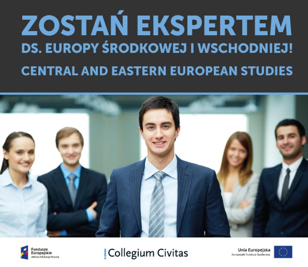 Dołącz do studiów Central and Eastern European Studies w Collegium Civitas.