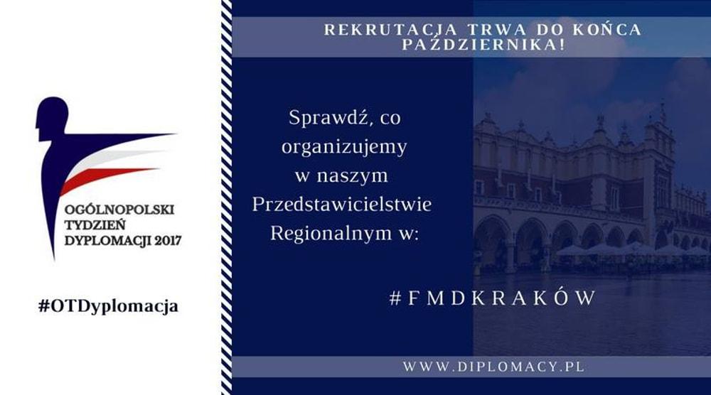 Stowarzyszenie Forum Młodych Dyplomatów zaprasza na wydarzenie
