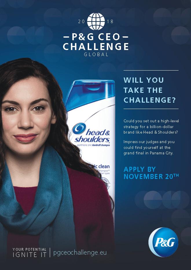 Ruszyła pierwsza globalna edycja konkursu P&G CEO Challenge