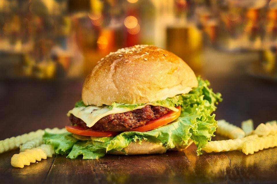 burger z owadów