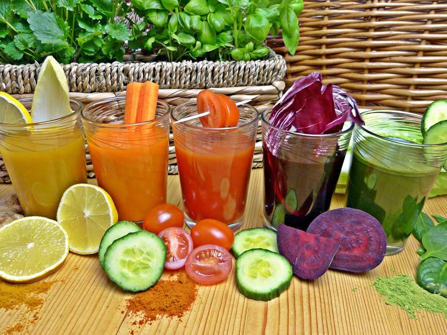 koktajle z warzyw i owoców