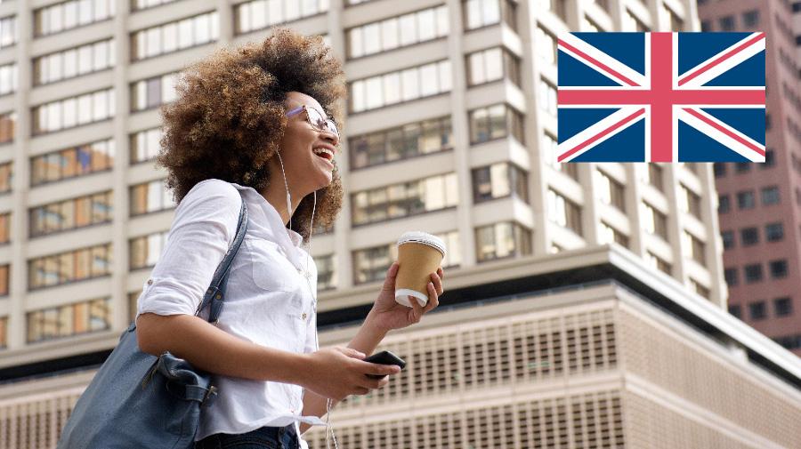 kobieta w Wielkiej Brytanii