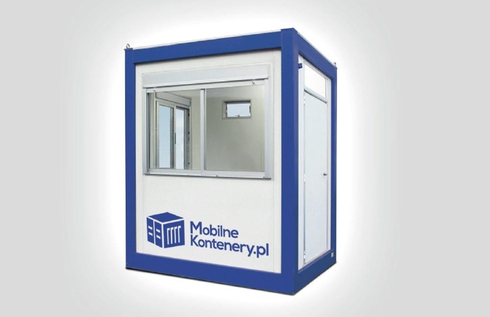Mobilne kontenery są odpowiednim rozwiązaniem dla stworzenia stróżówek.