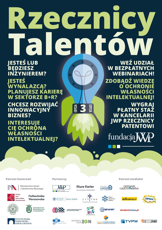 Rusza III edycja projektu Rzecznicy Talentów!