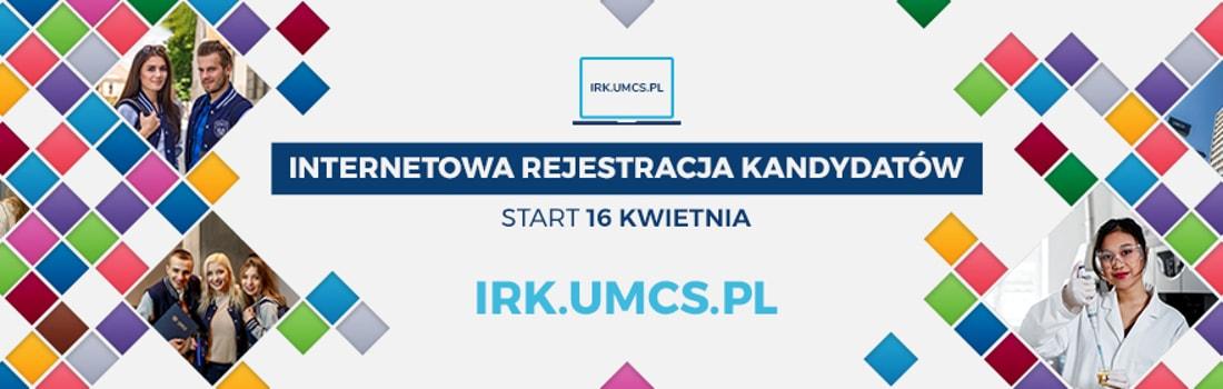Harmonogram postępowania rekrutacyjnego na Uniwersytet Marii Curie-Skłodowskiej w Lublinie.