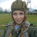 M�oda rosyjska spadochroniarka podbija sie� - Julia Char�amowa zdj�cia, rosjanki