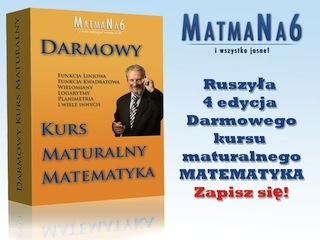 Profesjonalny Kurs Maturalny z Matematyki za Darmo - matma na 6 kurs matematyki matura kurs maturalny