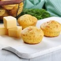Muffinki na ostro z ��tym serem - muffinki przepis z serem na ostro