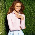 Jakie koszule damskie b�d� modne wiosn� i latem? - koszule damskie moda trendy wiosna lato 2015 w�lczanka kolekcja
